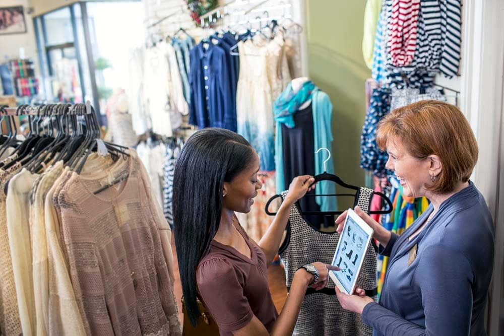 counterpoint retail pos customer interactions with mobile pos