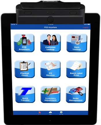 Ipad Mobile POS Application Working
