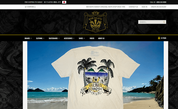 808 Skate Homepage Front 1 CP Commerce Integration to eCommerce