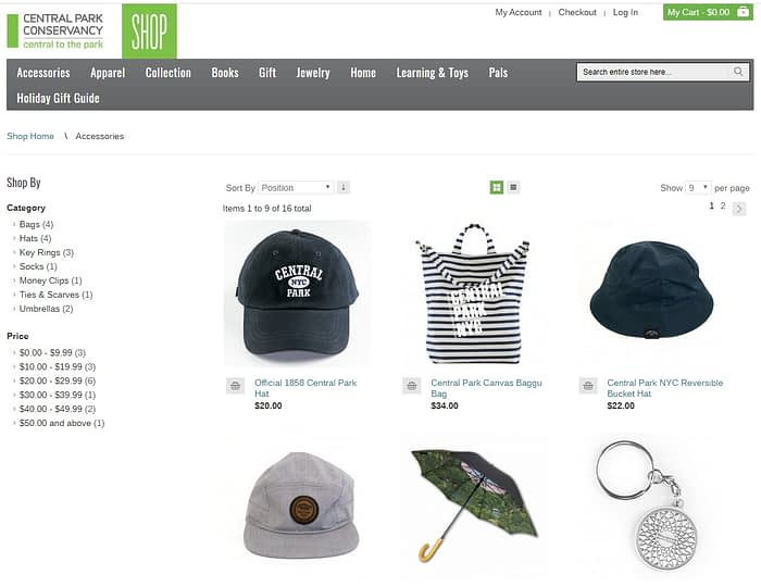 central park conservancy ecommerce counterpoint online 1