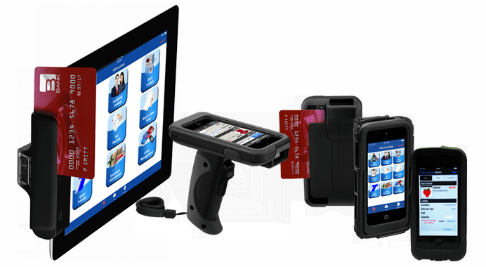 Mobile POS Multiple Devices with Credit Card